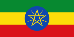 The Flag of Ethiopia