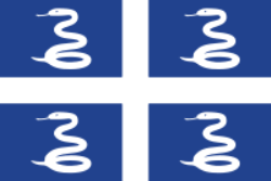 Snake Flag of Martinique